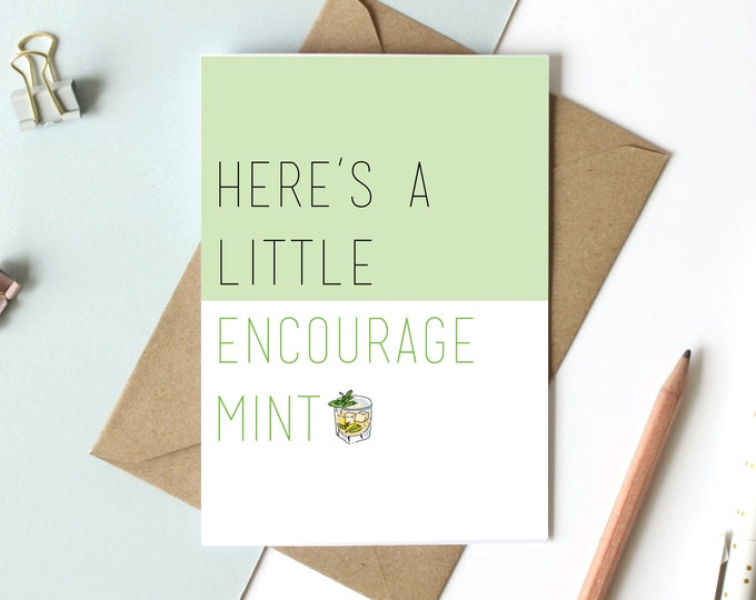 Mint Themed Cards