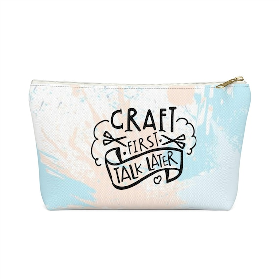Craft First Accessory Pouch w T-bottom