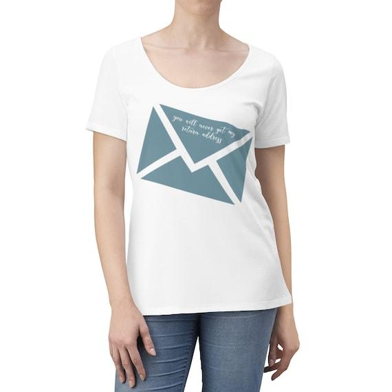 Never Getting My Return Address Women's Scoop Neck T-shirt
