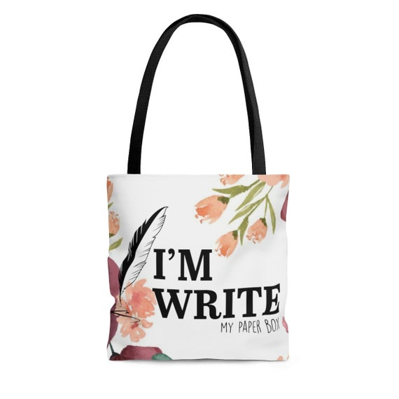 I'm Write MPB Stationery Addict Tote Bag