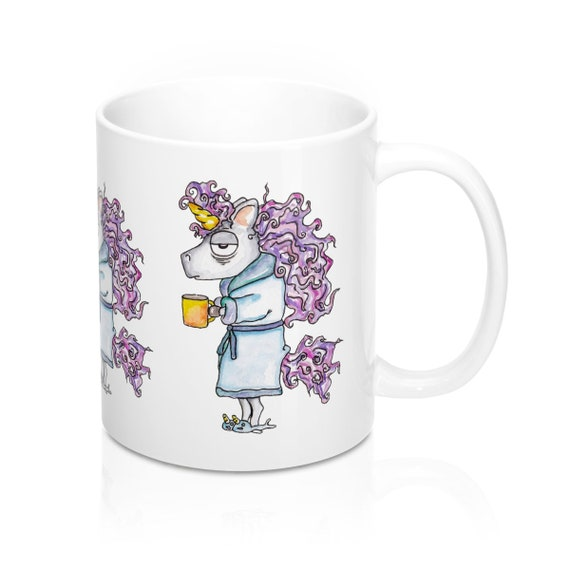Coffee Unicorn Mug 11oz
