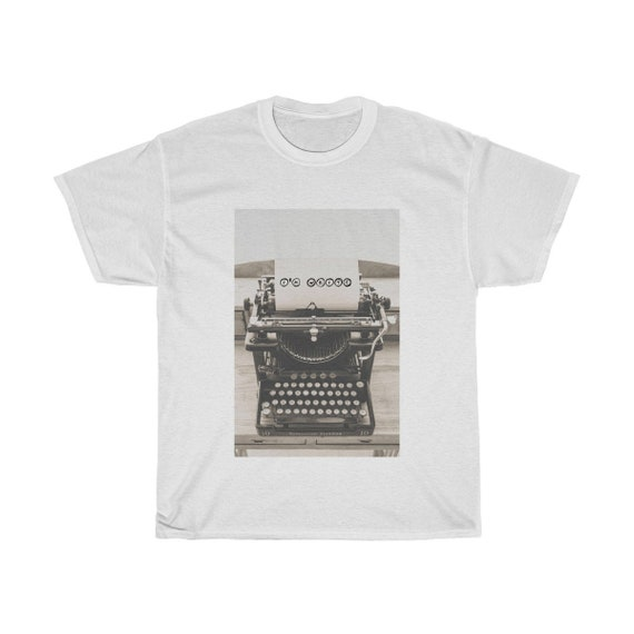 I'm Write typewriter Unisex Cotton Tee