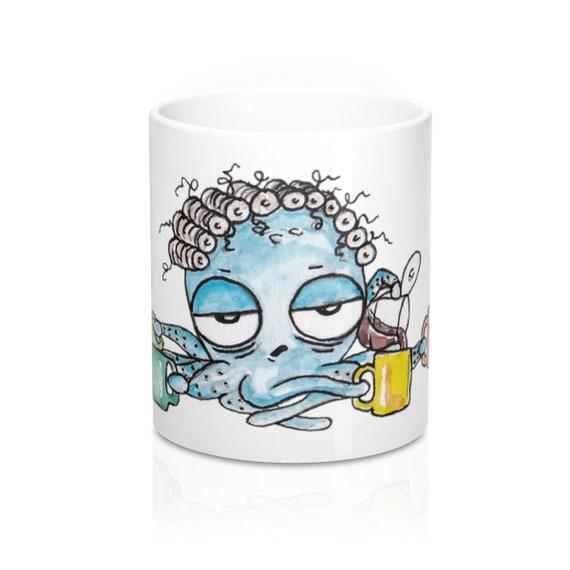 Coffee Octopus Mug 11oz
