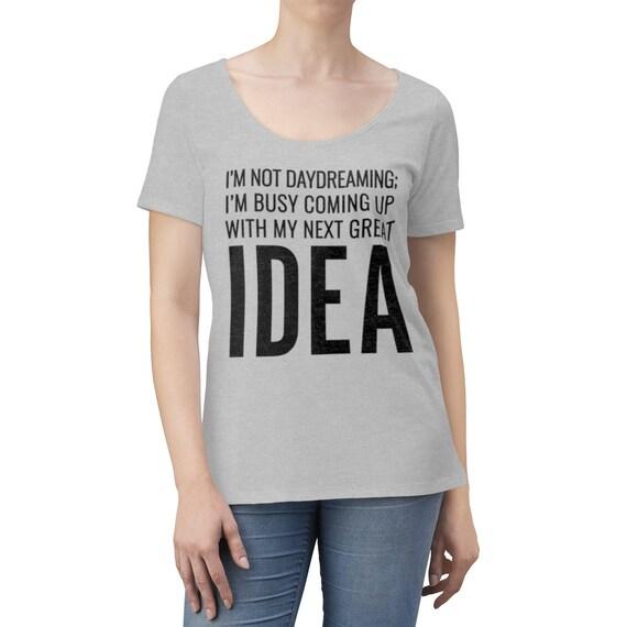 My Next Idea Women's Scoop Neck T-shirt