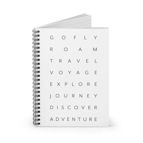 Travel Spiral Notebook - Ruled Line