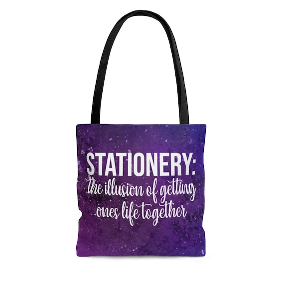Stationery Addict Tote Bag