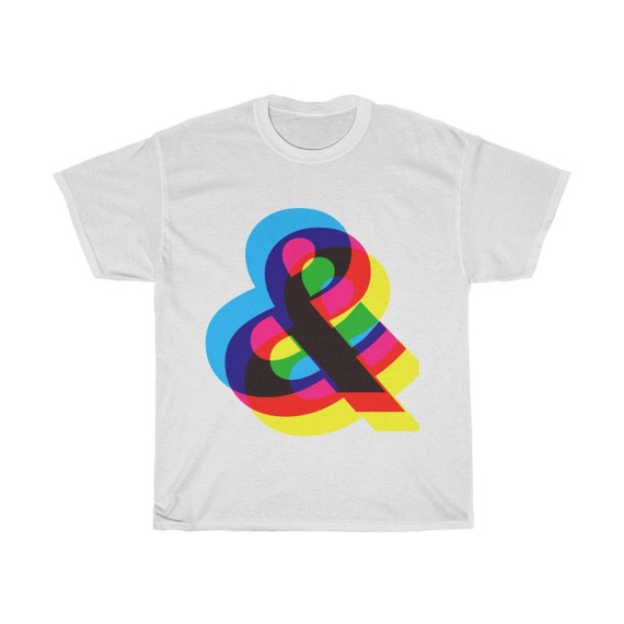 Ampersand & Unisex Cotton Tee
