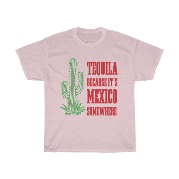 Tequila Unisex Cotton Tee