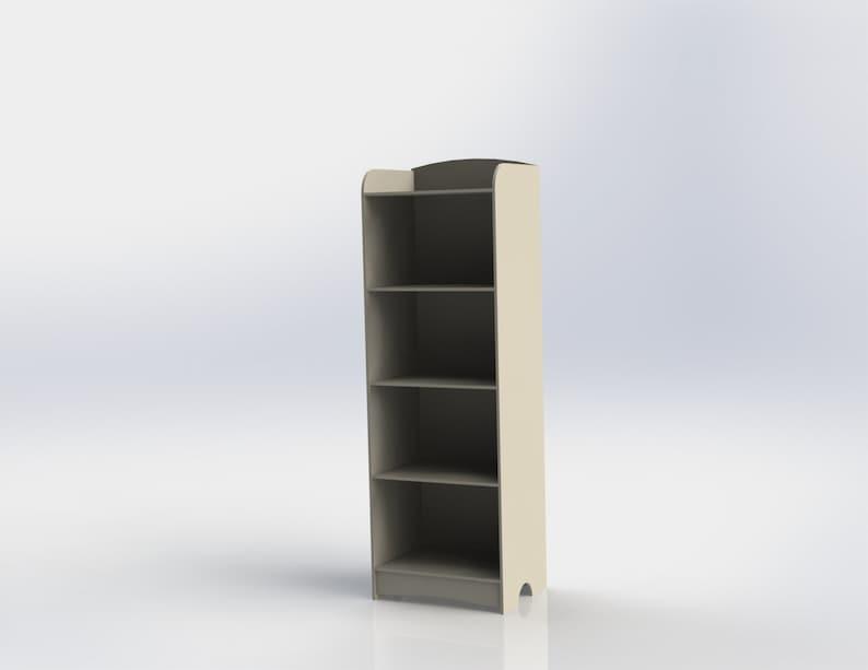 CNC file. design for laser CNC and CNC milling Vector cutting plan 3D puzzle Digital design furniture