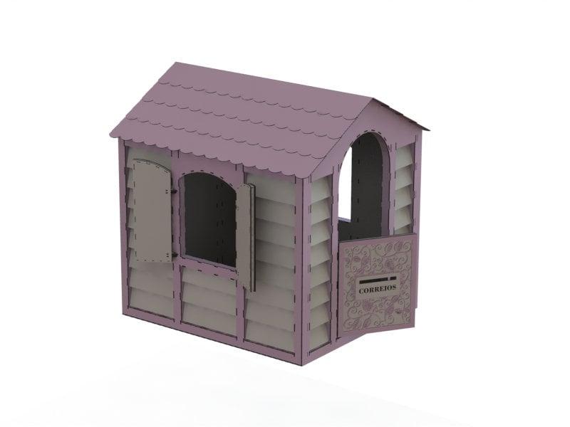 Strange House Digital Design Design For Laser Cnc And Cnc Milling Vector Cutting Plan 3D Puzzle Cnc File Download Free Architecture Designs Scobabritishbridgeorg
