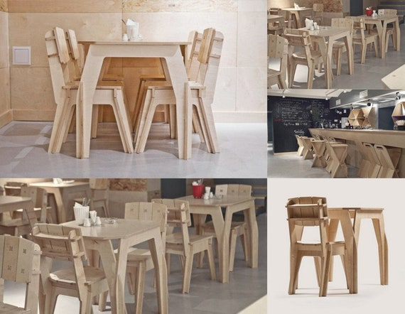 Furniture Design For Laser Cnc And Cnc Milling Vector Cutting Plan 3d Puzzle Cnc File