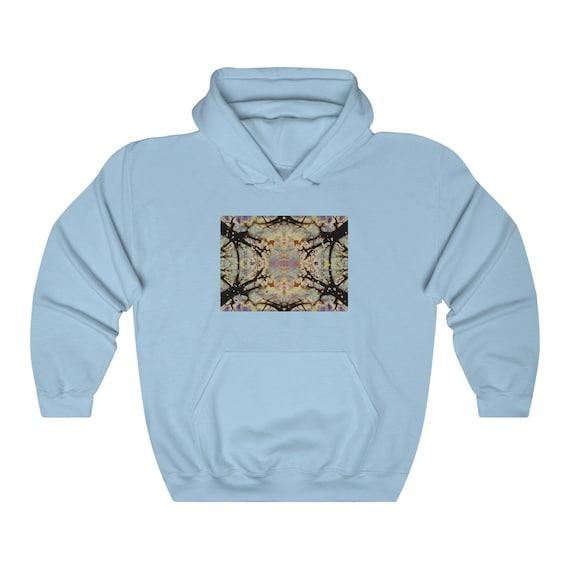 Grateful Nature Artwork Hoodie, Sweatshirt - gift for DeadHead
