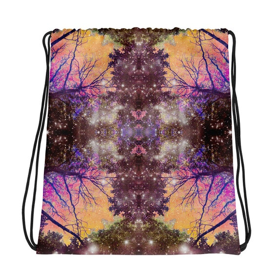 Light Will Split You Open Colorful Rainbow Good Vibes Drawstring Bag Backpack All Over Print