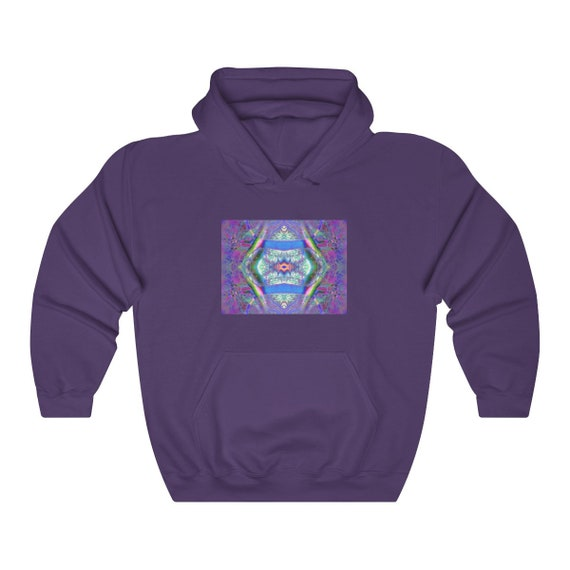 Trippy Nature Artwork Hoodie, Sweatshirt - unique gift for DeadHead