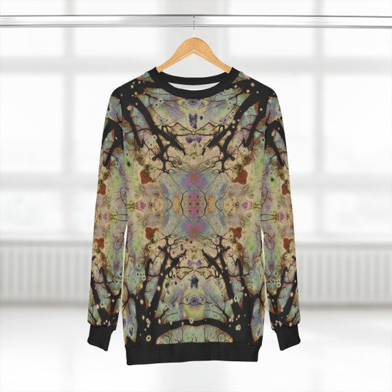 All Over Print - Magical Tree Design Sweatshirt
