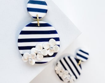 Cape Collection Striped Earrings