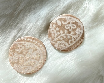 Small Duchess Stud Earrings