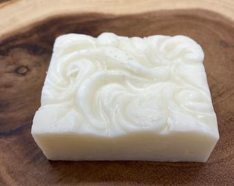 All Natural Handmade Goat Milk Soap | Exfoliating | Moisturizing | Set of 3 | Vanilla Cream