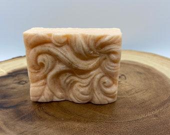 All Natural Handmade Goat Milk Soap | Exfoliating | Moisturizing | Set of 3 | Citrus Sunshine