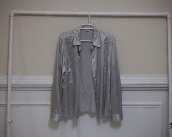 Womens Silk Shirt Etsy