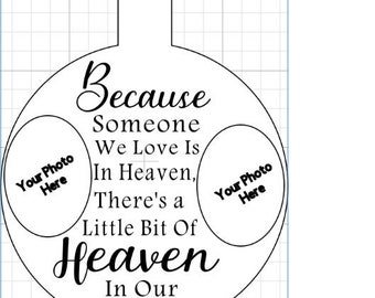 ornament template etsy