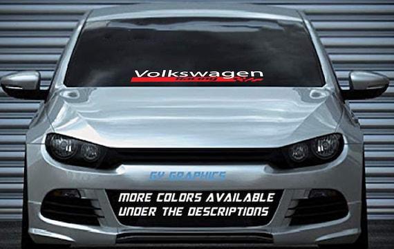 Side Windshield DOHC Decal banner graphic sticker truck car