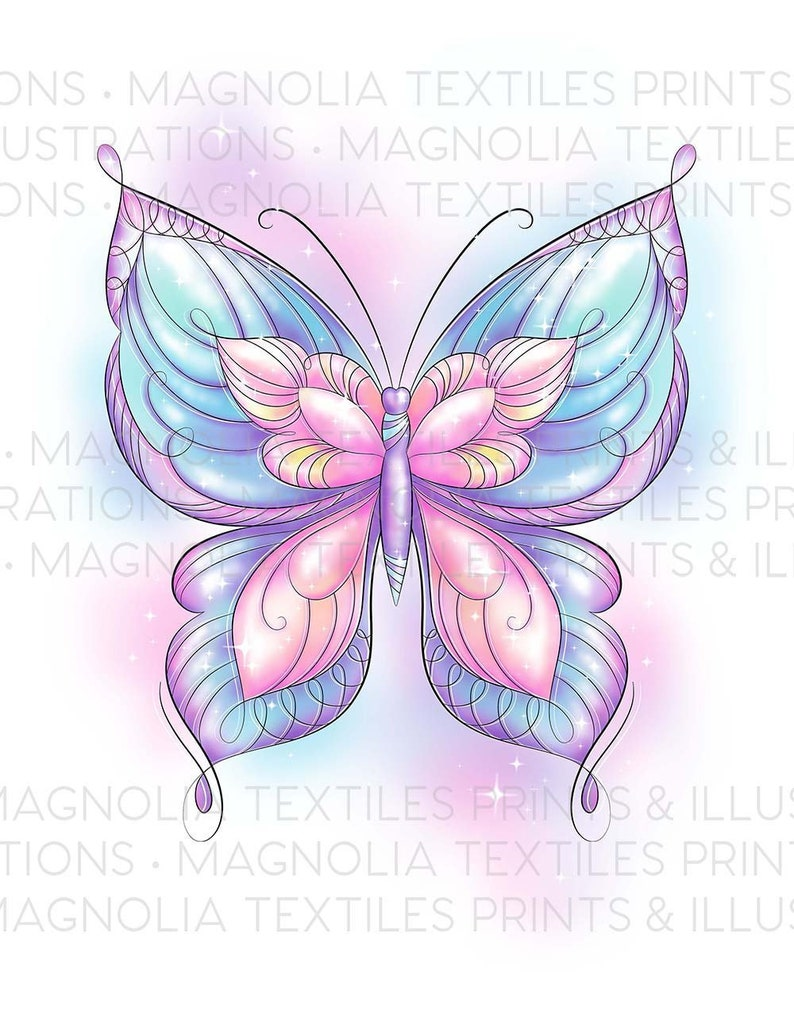 photograph about Printable Butterfly identified as MAGICAL BUTTERFLY Case in point, Printable Butterfly Art Obtain,Gals Bed room Wall Decor,Immediate Butterfly Artwork,Butterfly Present and Decor