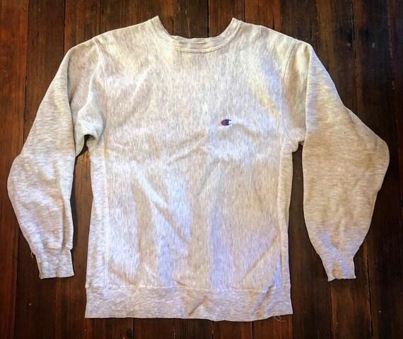 1980s Vintage Champion Reverse Weave Crewneck Swea