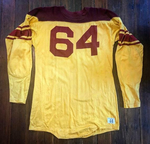 Vintage 1950s Champion Football Jersey Large