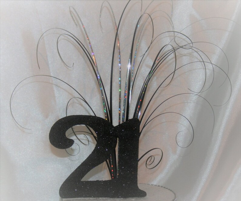 Large Age Large Number Cake Topper Birthday Any Age Any ColourColours 18th 21st 30th 40th 50th 60th 70th Party