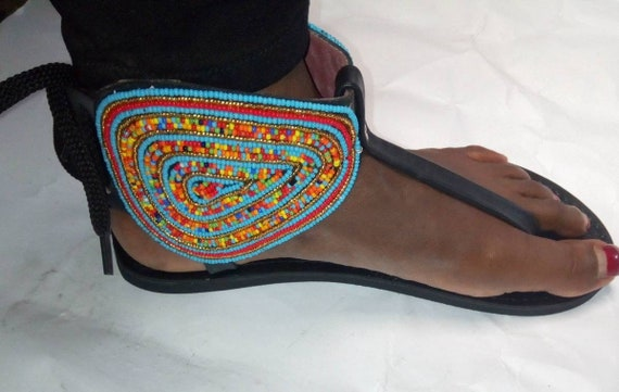 Maasai beaded sandals Women Galidators,Women sandals