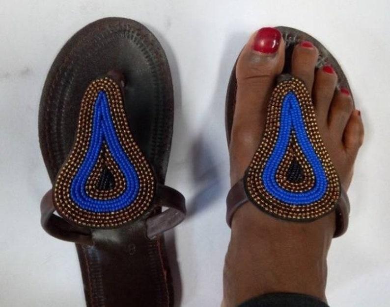 African beaded sandals,maasai sandals,women sandals gift for her,summer sandals,evening sandals outdoor sandals Sandalias,handmade sandals