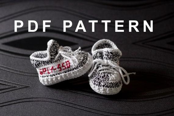 Crochet PATTERN Crochet shoes PATTERN