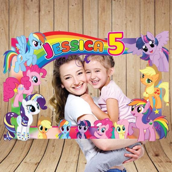 My Little Pony Photo Booth Frame My Little Pony Frame My Etsy