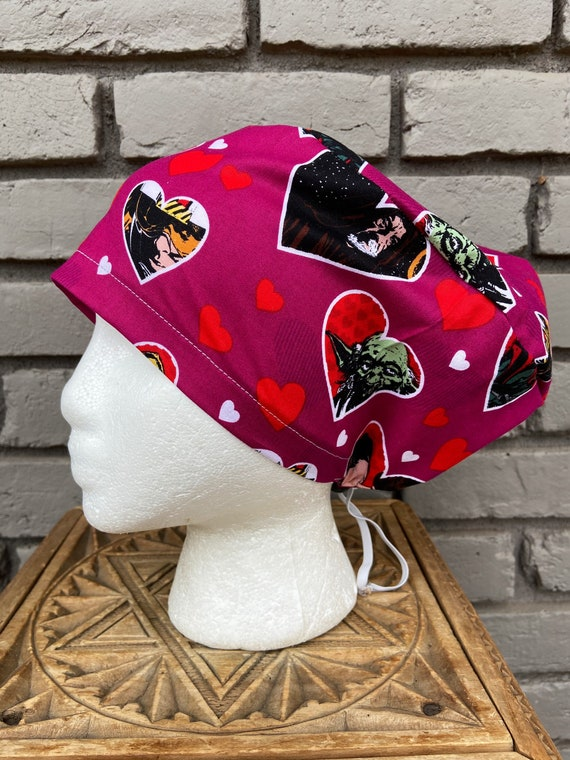 Star Wars Scrub Cap,  Surgical Scrub Cap, Scrub Caps for Women, Scrub Hats, Euro Pixie Toggle Hat