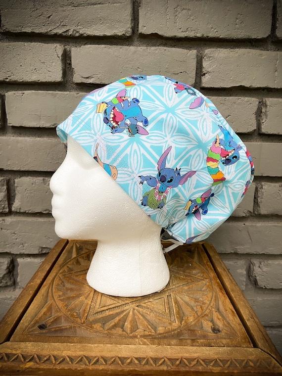 Disney Scrub Cap, Lilo and Stitch, Lilo, Stitch, Surgical Scrub Cap, Scrub Caps for Women, Scrub Hats, Euro Pixie Toggle Hat