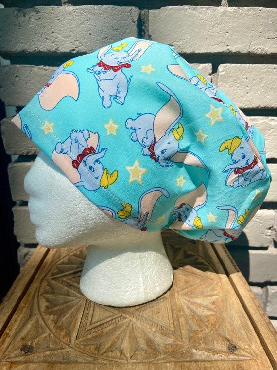 Disney Scrub Cap, Dumbo, Surgical Scrub Cap, Scrub Caps for Women, Scrub Hats, Euro Pixie Toggle Hat