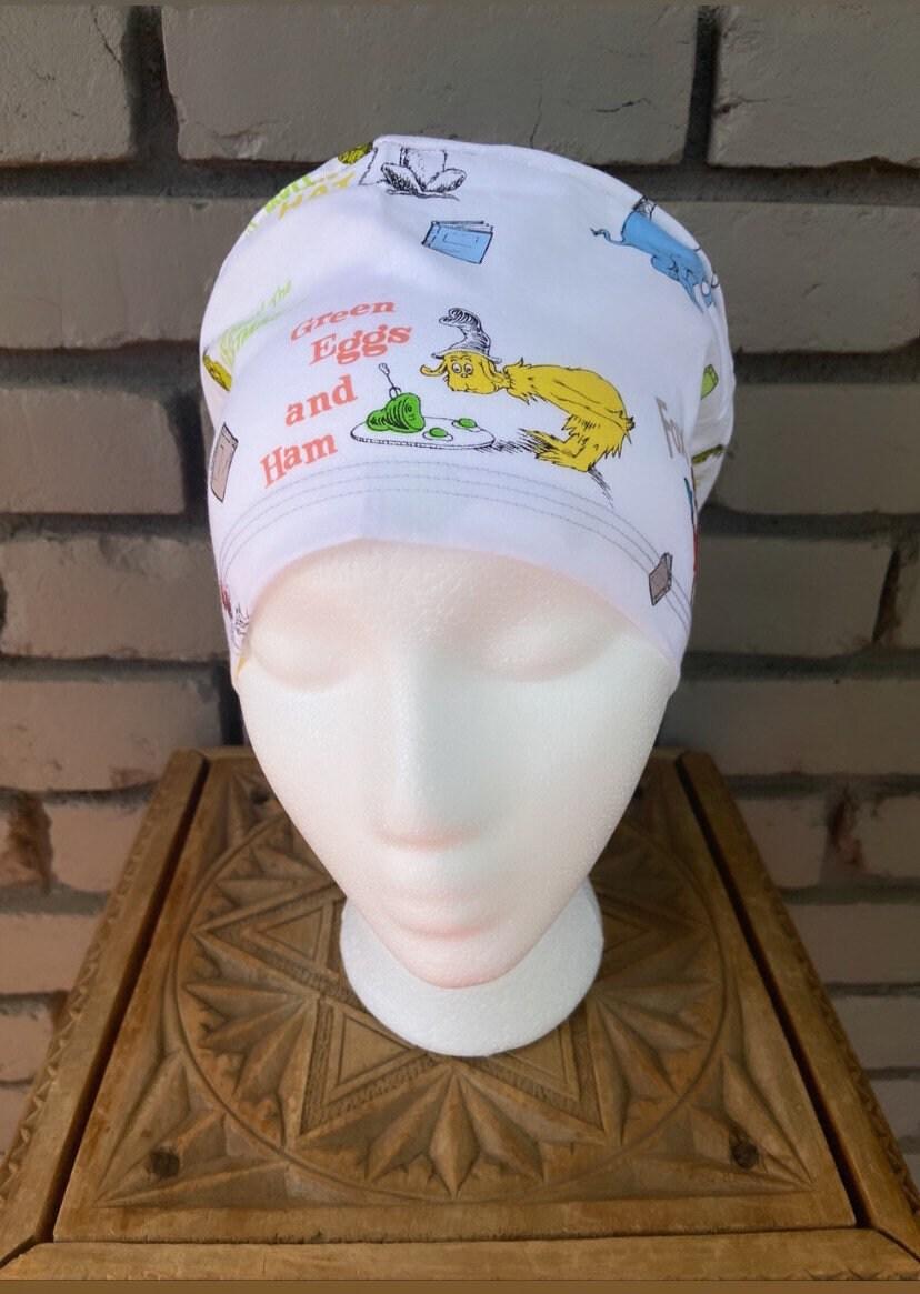 Euro Scrub Hat Women/'s Scrub HatEuropean style scrub hatScrub CapSurgical Scrub Hat Scrub Caps- Genevieve
