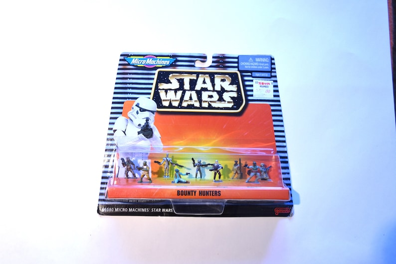 Micro Machines Star Wars Bounty Hunters Galoob