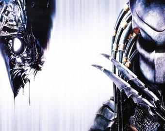 d73ed17ab190cf Alien Vs Predator II poster MWA 10775p