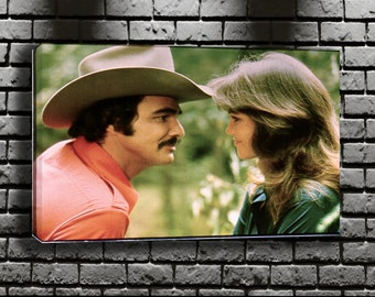 ea160e6f94c Burt Reynolds   Sally Field Canvas Wall Art MWA 10771