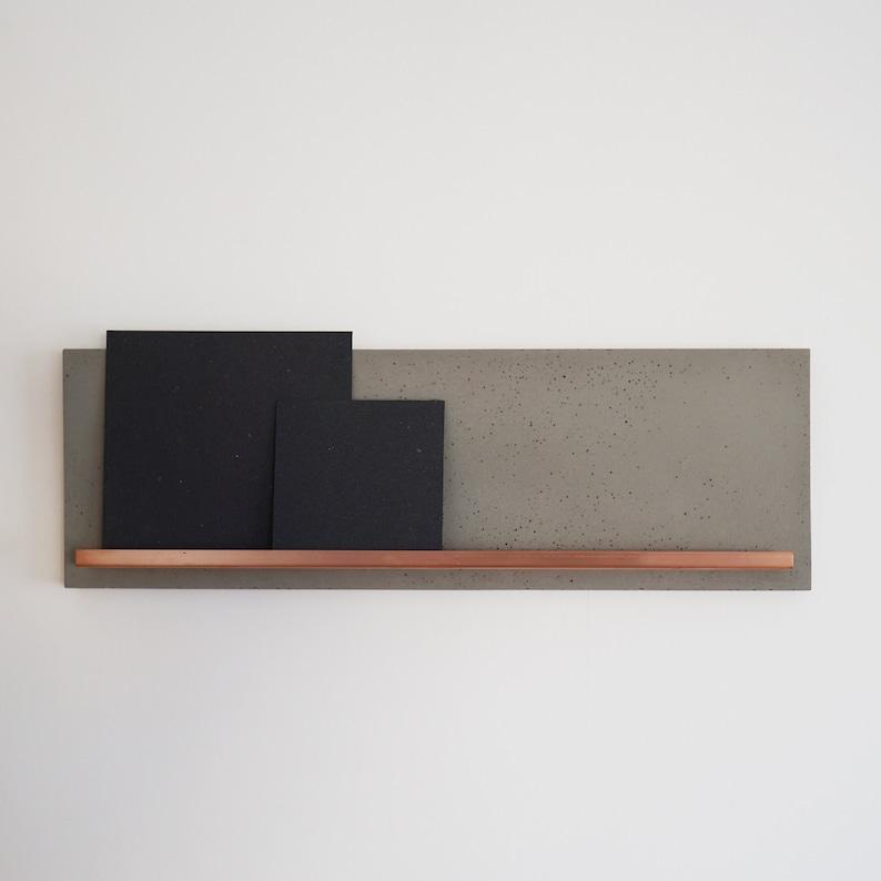 Concrete and copper Image bar