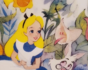 All In The Golden Afternoon - Alice In Wonderland Decorative Plate