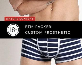 FTM Custom Prosthetic - 11 to 15 cm (4.7 – 5.9″)