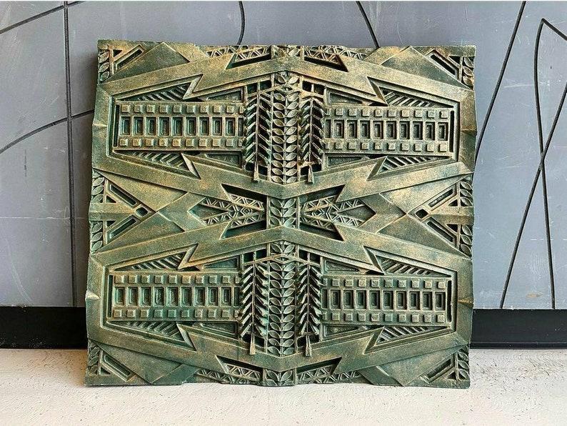 Frank Lloyd Wright Frieze panel from the Dana Thomas house image 0