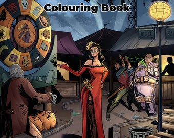 Llod's Traveling Carnival Colouring Book
