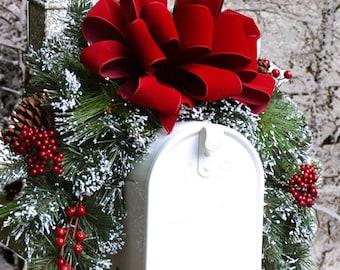 Christmas mailbox | Etsy