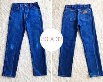 a31656cc 30 x 32 Wrangler Denim Jeans, 13MWZ