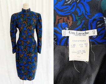 Guy Laroche boutique strapless vintage 1990 unscrawled Made in France size 40FRL very good condition
