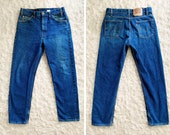34 X 30 (Measures 32 X 30) Levis 505, Made In USA
